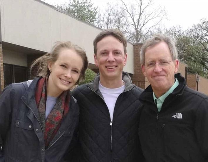 couple with Paul Wheeler