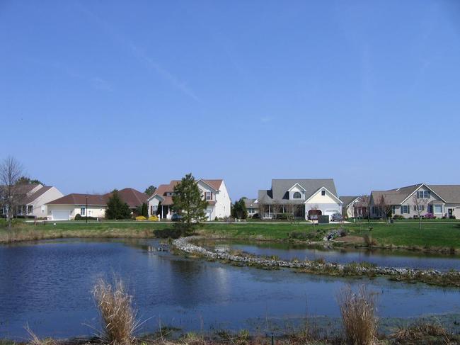 Pilottown Village-Lewes-DE-Pond-Front
