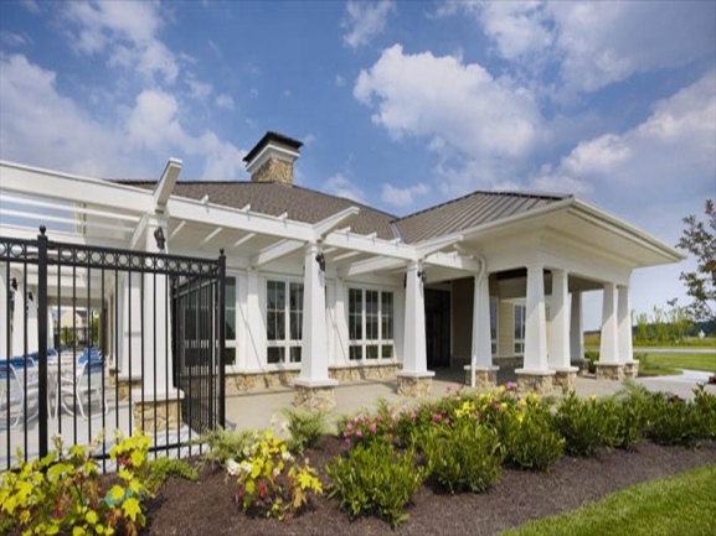 Plantations Lakes Neighborhood-Millsboro-DE-Clubhouse side