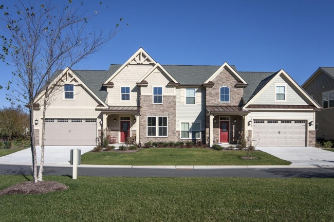 Forest Landing Neighborhood, Bethany Beach Housing Styles