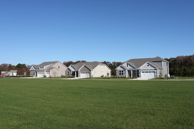 Open Space and large lots