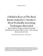 3 Hidden Keys of Real Estate Investing