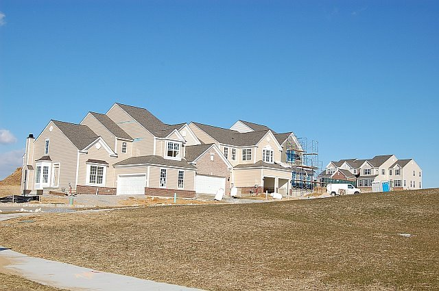 Progression of townhome sites 2008
