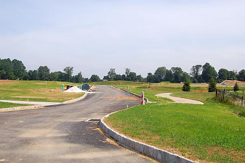 Site of new homes August 2010