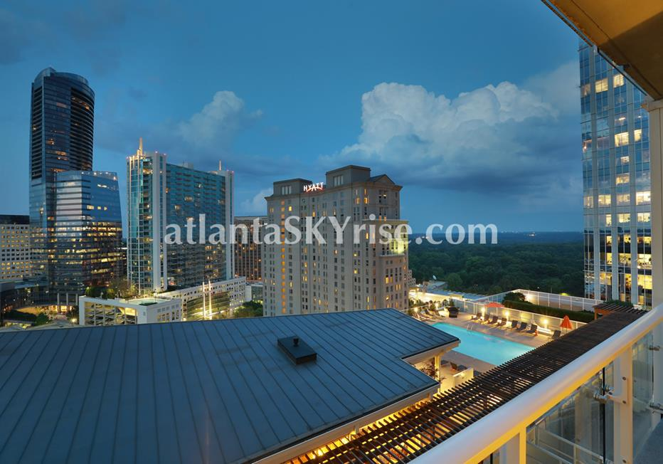 10 Terminus Place Buckhead Atlanta Condominium Terrace Views