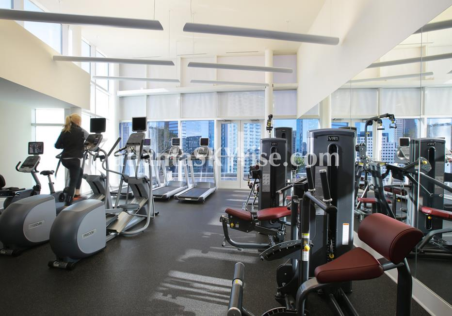 10 Terminus Place Buckhead Atlanta Condo Fitness Center