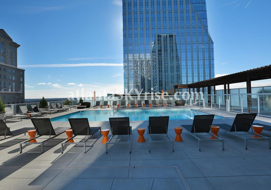 10 Terminus Place Buckhead Atlanta Condo Pool With City Views