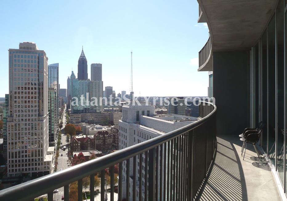 1010 Midtown Atlanta Condo Balcony Views