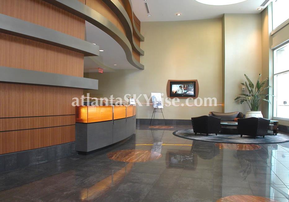 1010 Midtown Atlanta Condo Entrance