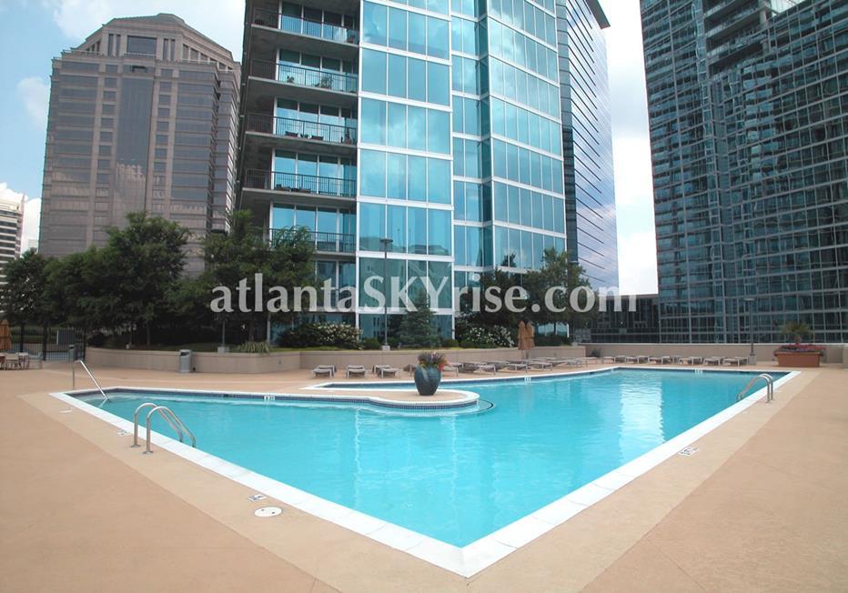 1010 Midtown Atlanta Condo Pool