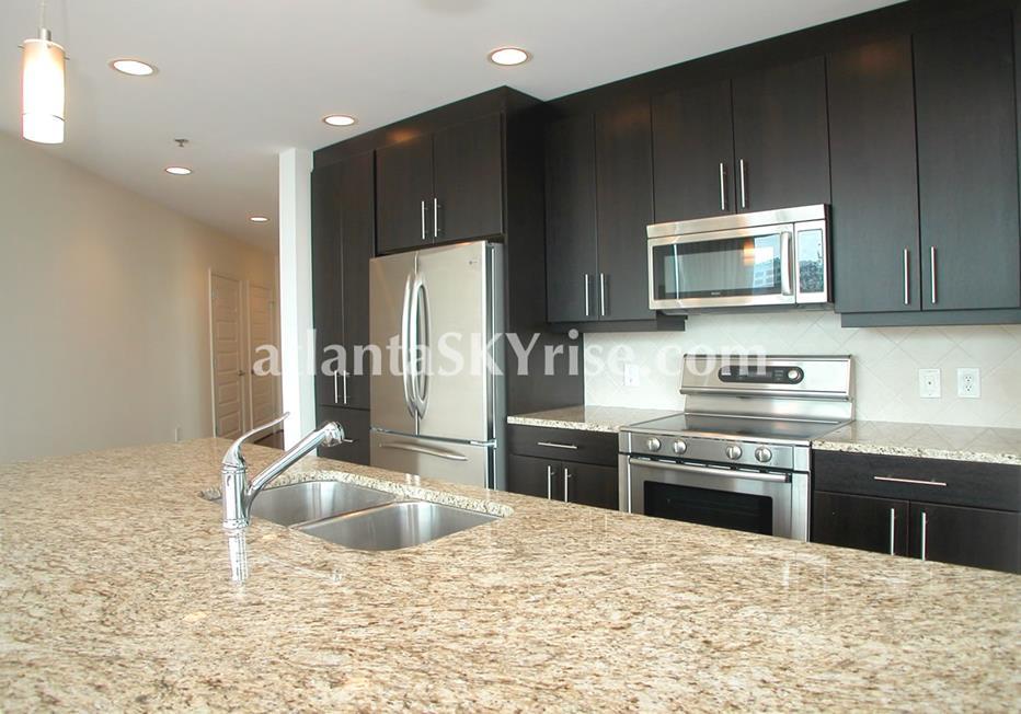 1010 Midtown Atlanta GA Condo Residence Kitchen
