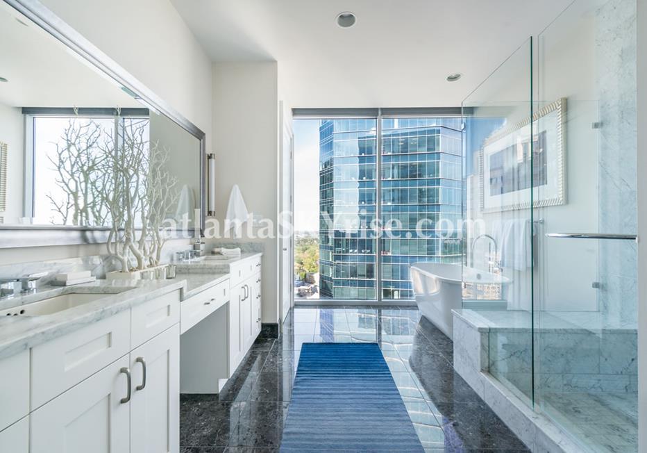 1065 Midtown at Loews Condo Luxury Bath