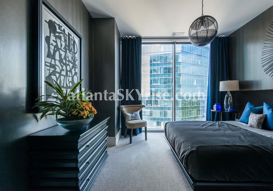 1065 Midtown at Loews Atlanta Condo Bedroom