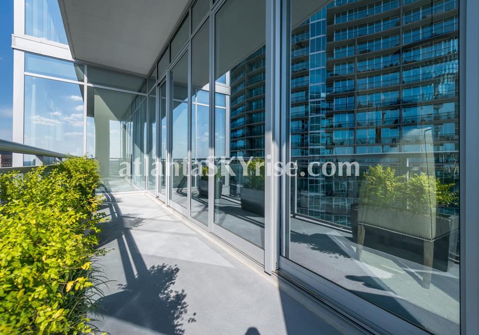1065 Midtown at Loews Atlanta Condo Balcony