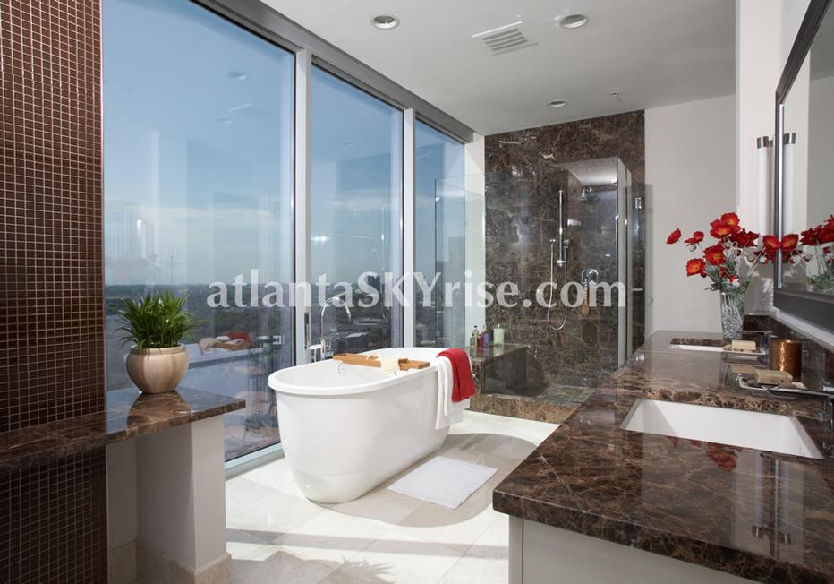 1065 Midtown at Loews Condo Luxury Bath With Soaking Tub