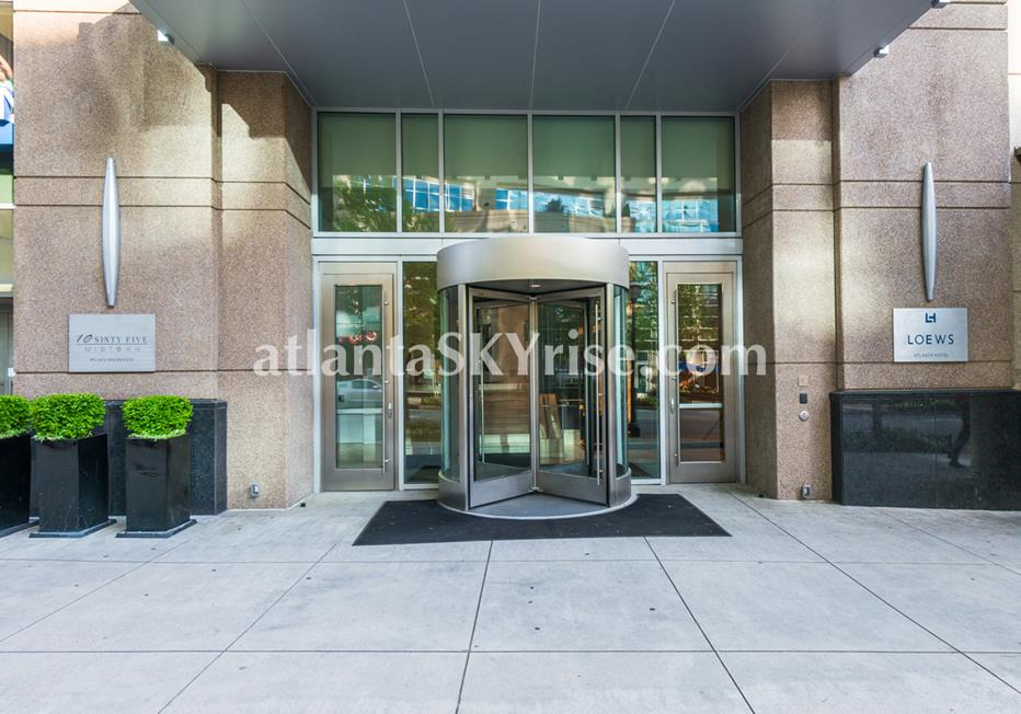1065 Midtown at Loews Atlanta GA Condominium Entrance