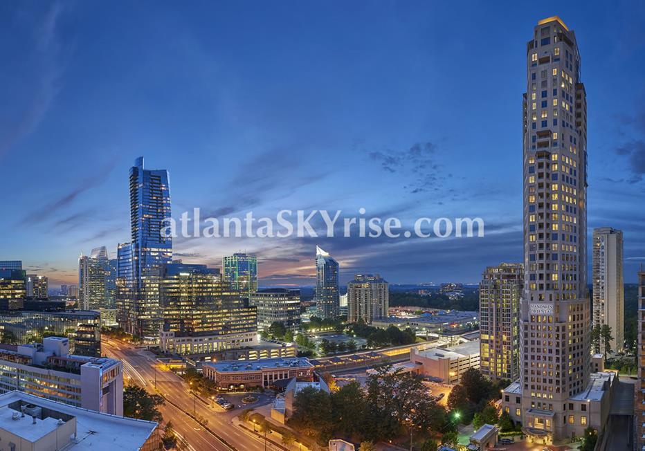 Mandarin Oriental Residences Buckhead Atlanta Condo Real Estate