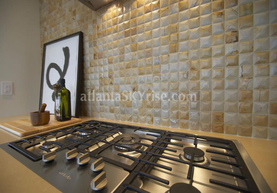 Mandarin Oriental Residences Buckhead Atlanta Kitchen Range