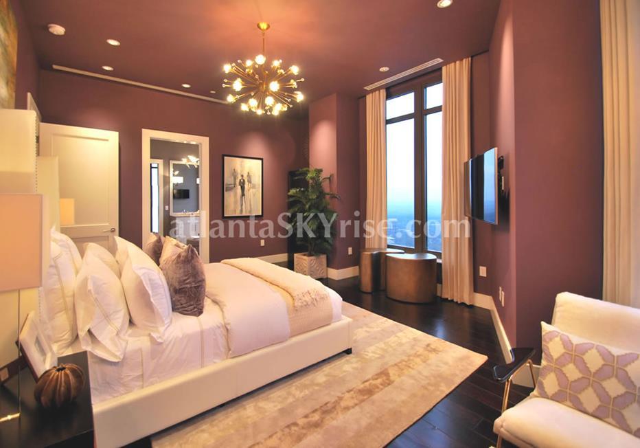 Mandarin Oriental Residences Buckhead Atlanta Condominium Bedroom