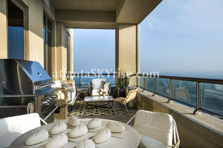 Mandarin Oriental Residences Buckhead Atlanta Condo With Spacious Balcony