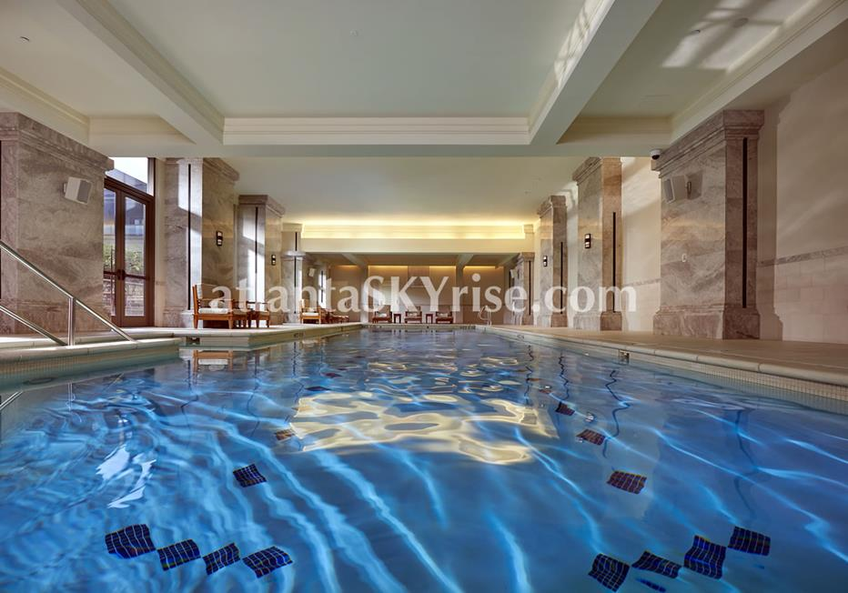 Mandarin Oriental Residences Buckhead Atlanta Condominium Indoor Swimming Pool