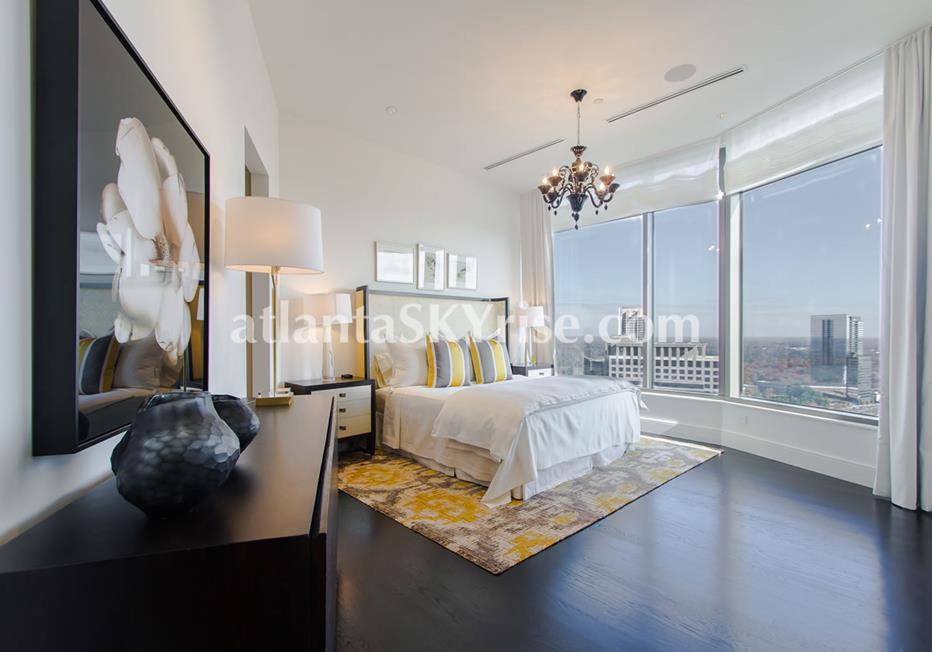 Mandarin Oriental Residences Buckhead Atlanta Condo Bedroom