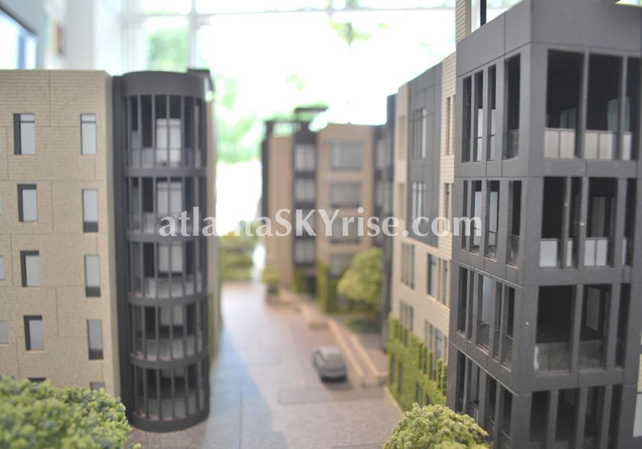 One Museum Place Midtown Atlanta Condo Scale Model