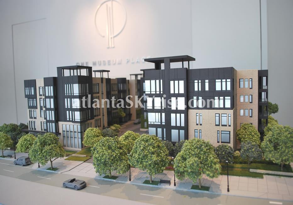 One Museum Place Condo Model