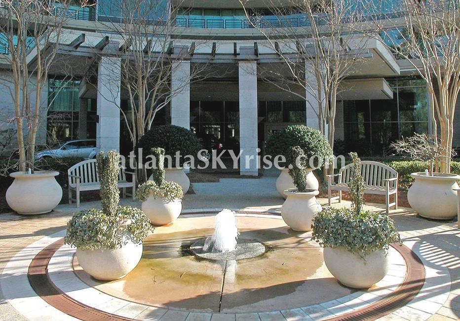 Park Regency Buckhead Atlanta Condo Fountain
