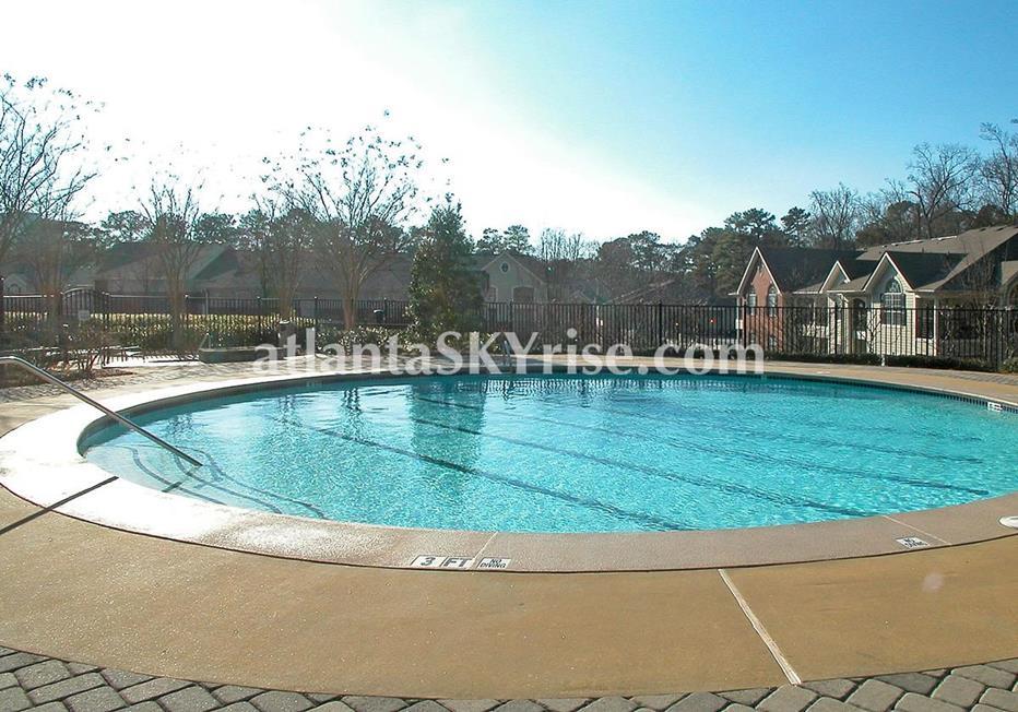 Park Regency Buckhead Atlanta Condo Swimming Pool