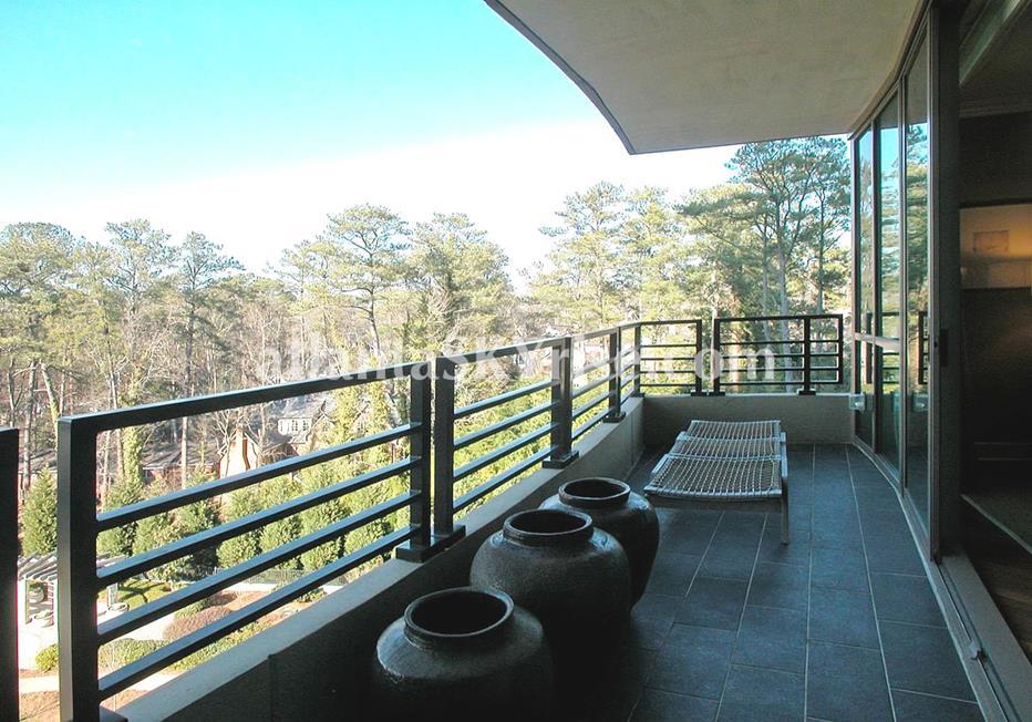 Park Regency Buckhead Atlanta Condo Balcony