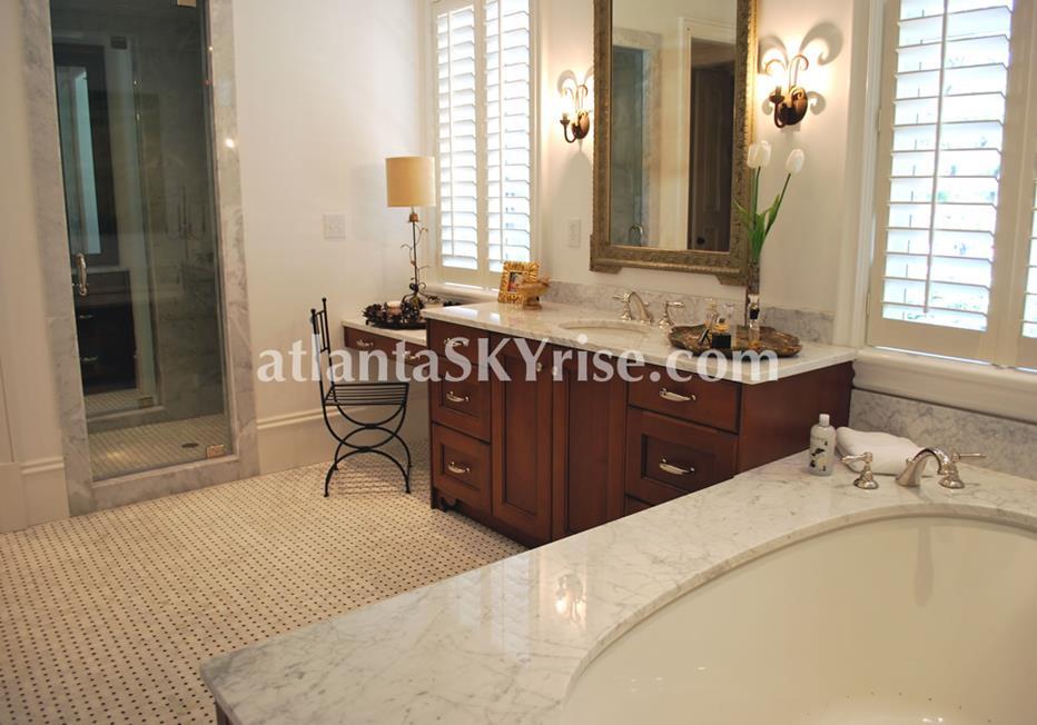 The Bellingrath Buckhead Atlanta Townhome Luxury Bathroom