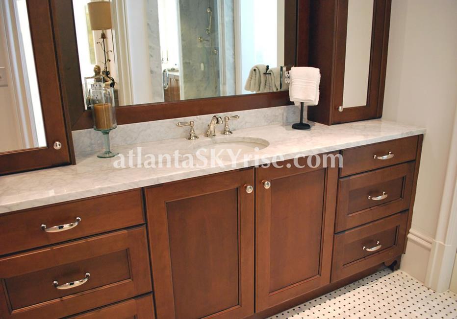 The Bellingrath Buckhead Atlanta Townhome Bathroom Vanity