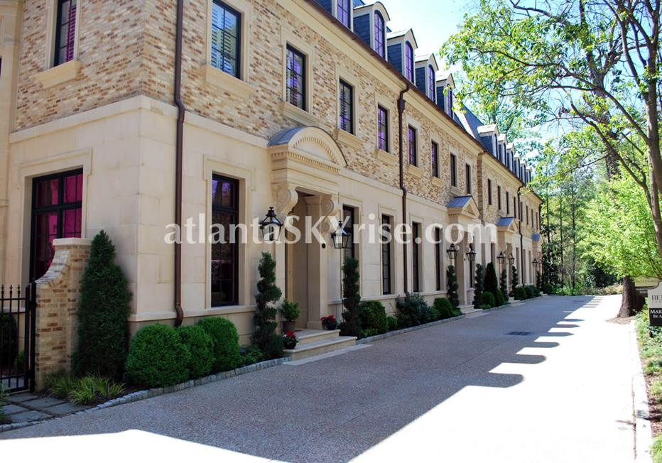 The Bellingrath Buckhead Atlanta Luxury Townhomes