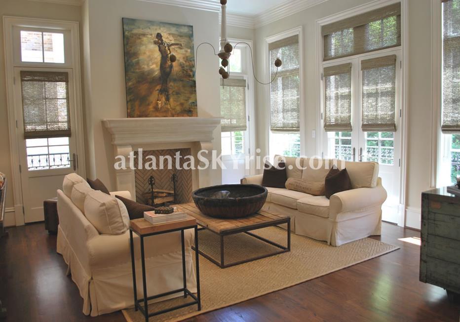 The Bellingrath Buckhead Atlanta Townhome Living Room