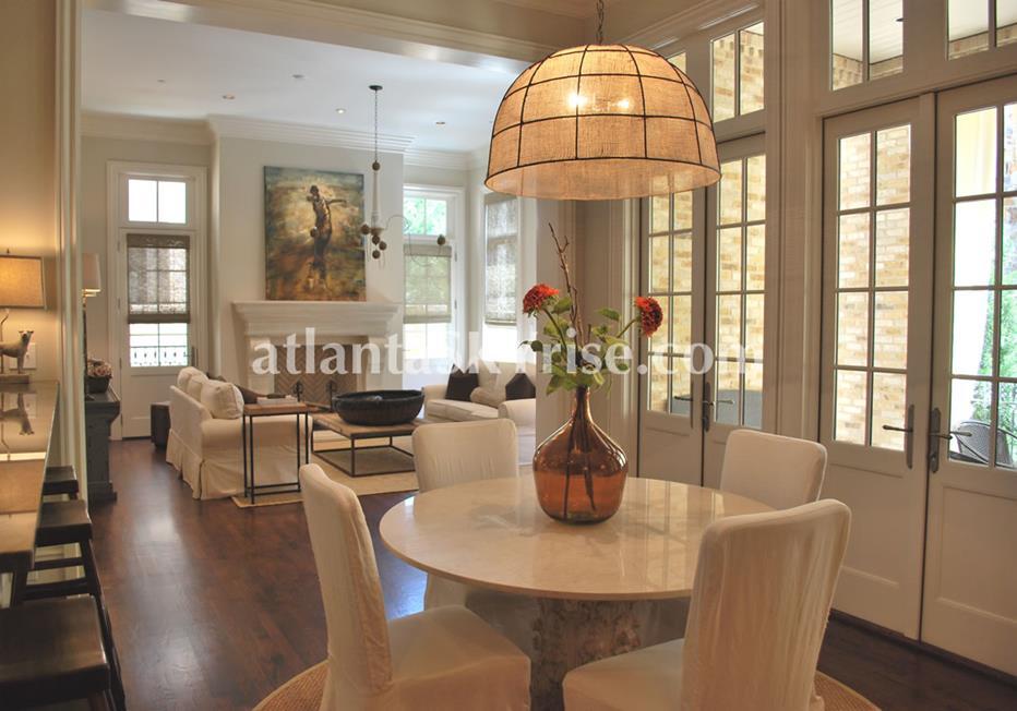 The Bellingrath Buckhead Atlanta Townhome Dining Room