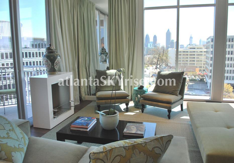 The Brookwood Midtown Atlanta Condo With Panoramic City Views