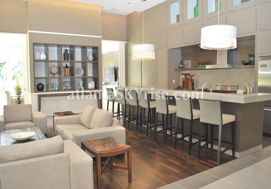 The Brookwood Midtown Atlanta Condominium Seating