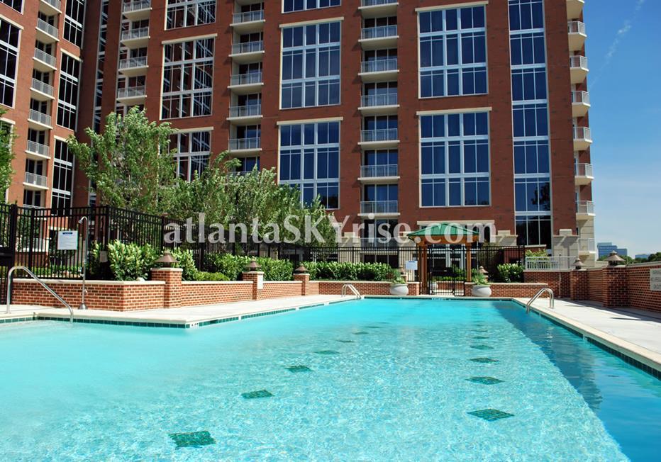 The Brookwood Midtown Atlanta Condo Pool