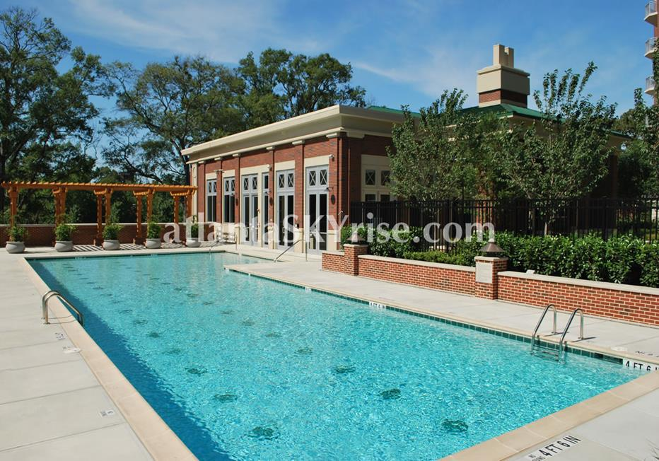 The Brookwood Midtown Atlanta Condominium Pool