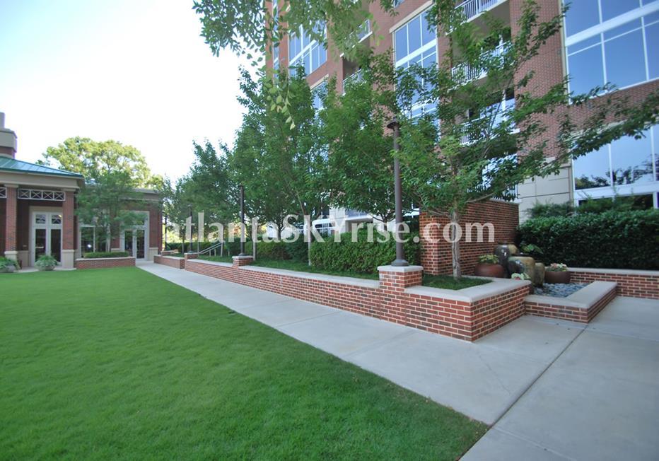 The Brookwood Midtown Atlanta Condo Trees