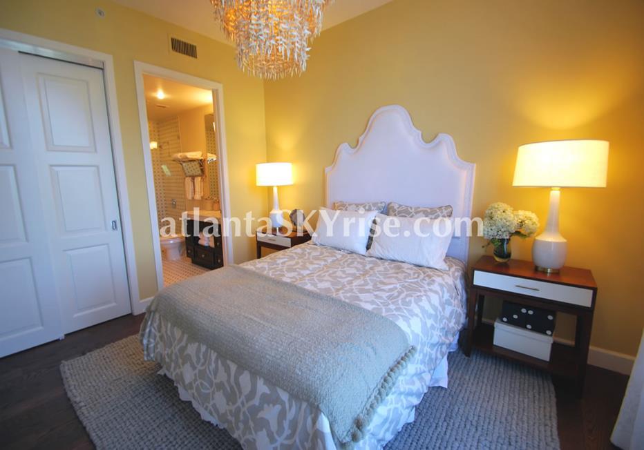 The Brookwood Midtown Atlanta GA Condo Bedroom
