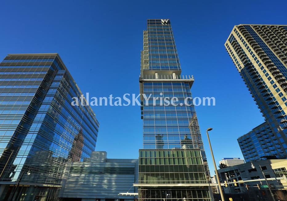 W Residences Downtown Atlanta Condo