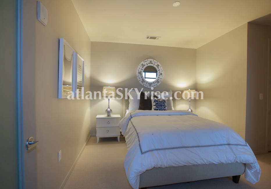 W Residences Downtown Atlanta Condo Bedroom