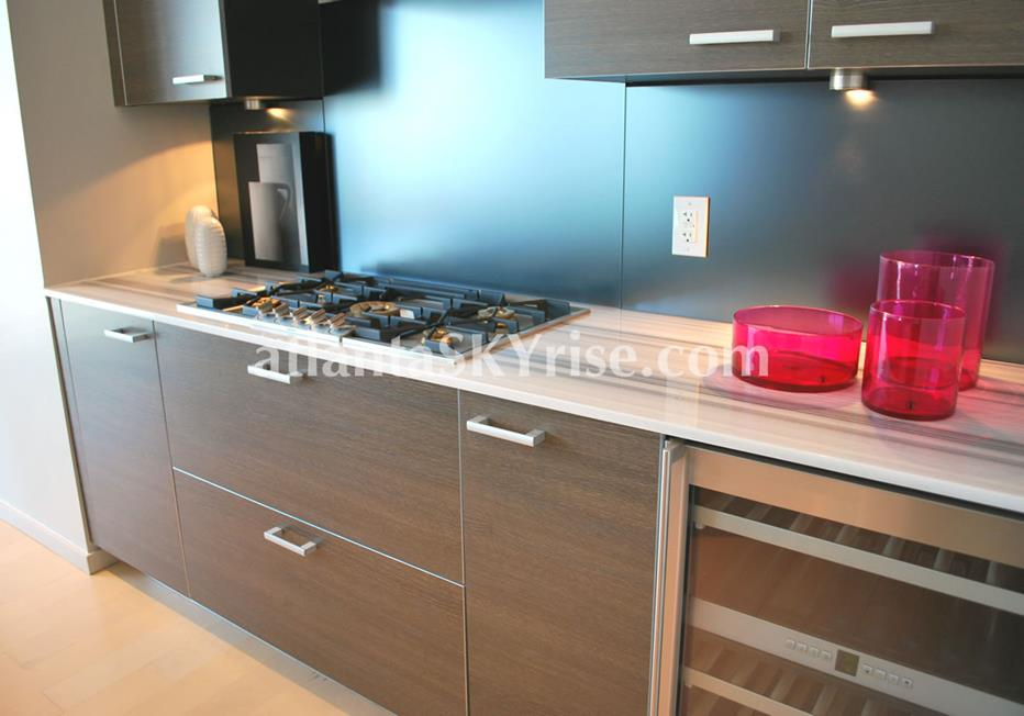 W Residences Downtown Atlanta Condo Kitchen With High End Finishes