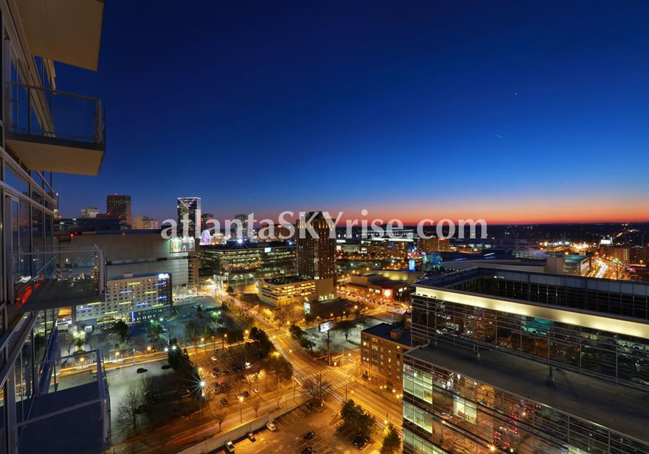 W Residences Downtown Atlanta City View Condo