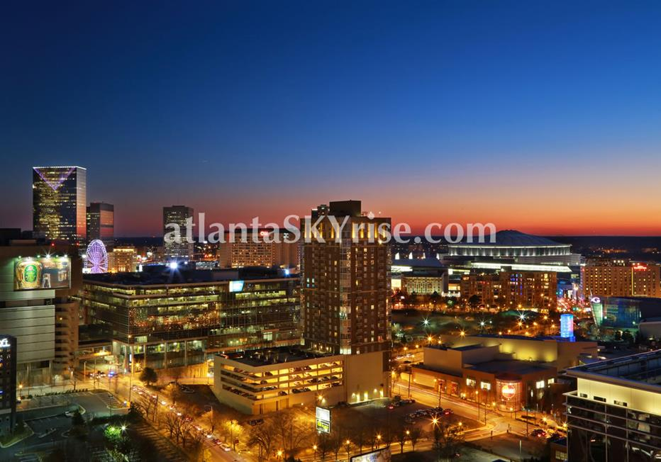 W Residences Downtown Atlanta Condos With City Views