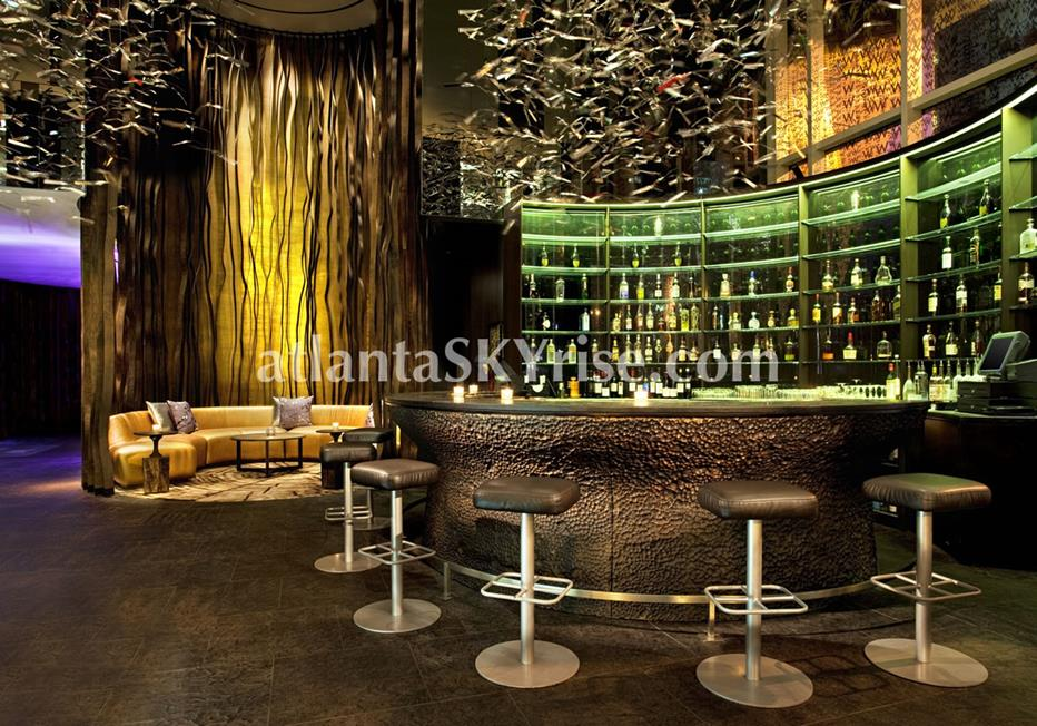 W Residences Downtown Atlanta Condominium Bar