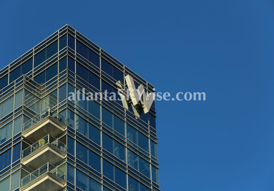W Residences Downtown Atlanta Condo Building