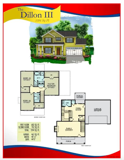 Floorplan for 153 Tahoe Drive